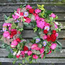 Grabkranz Handel, Grabblumen Verkauf, Friedhofsgrab Blumendienst